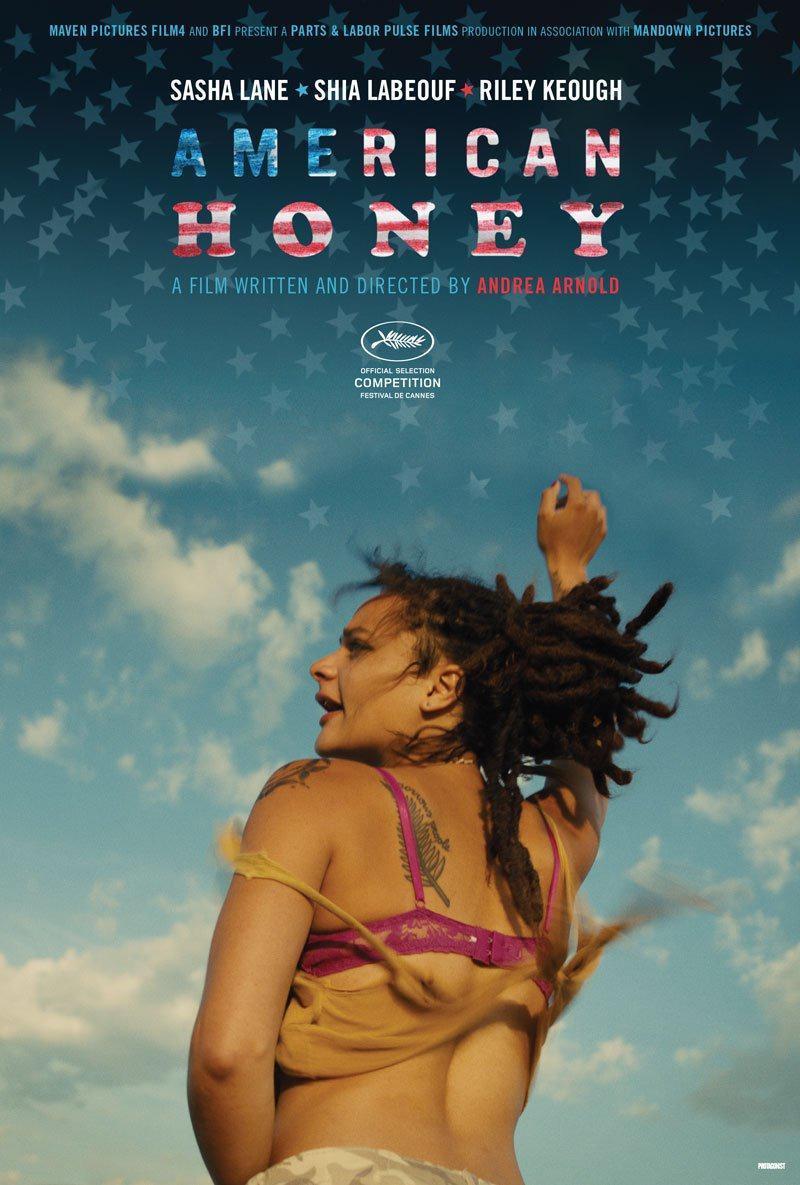 Resultado de imagen de american honey pelicula cartel 2016