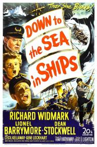Image result for DOWN TO THE SEA IN SHIPS 1949 movie