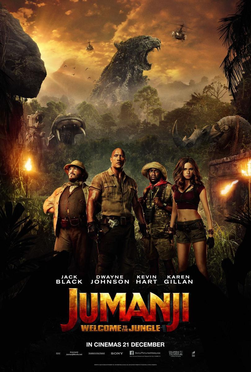 Jumanji: En la selva [2017][Latino][1080p][MEGA]