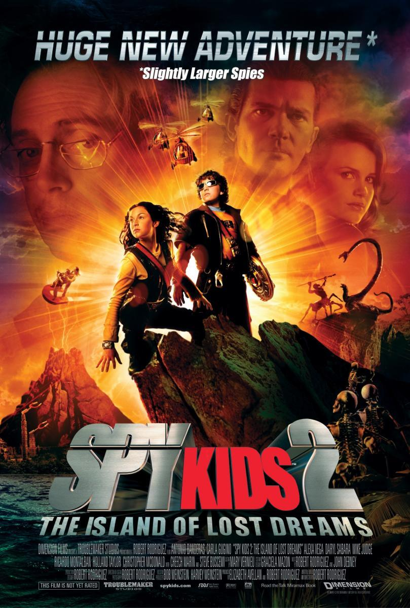 Spy Kids 2 The Island Of Lost Dreams 2002 Filmaffinity