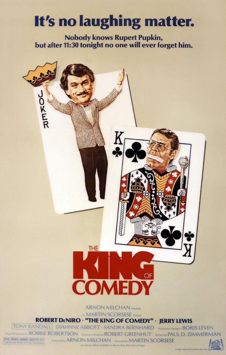 El rey de la comedia [1982][Esp Latino][1080p][MEGA]
