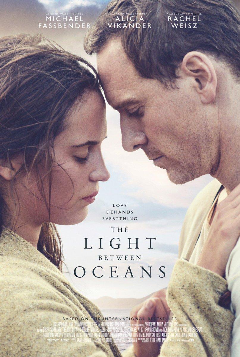 Resultado de imagen para La Luz Entre Los Oceanos (2016)