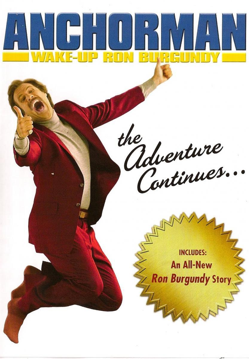 Poster do filme Wake Up, Ron Burgundy: The Lost Movie