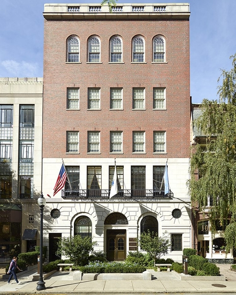 New England Historic Genealogical Society Library in ...