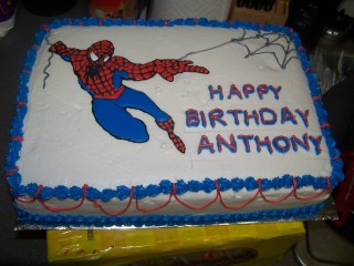 Spiderman Birthday Cake Kats Kitchen