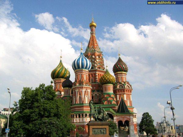 Храм Василия Блаженного (Покровский собор). Москва ...