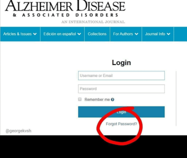 Funny Email And Espanol Alzheimer Disease A S S Ociated Disorder S An International