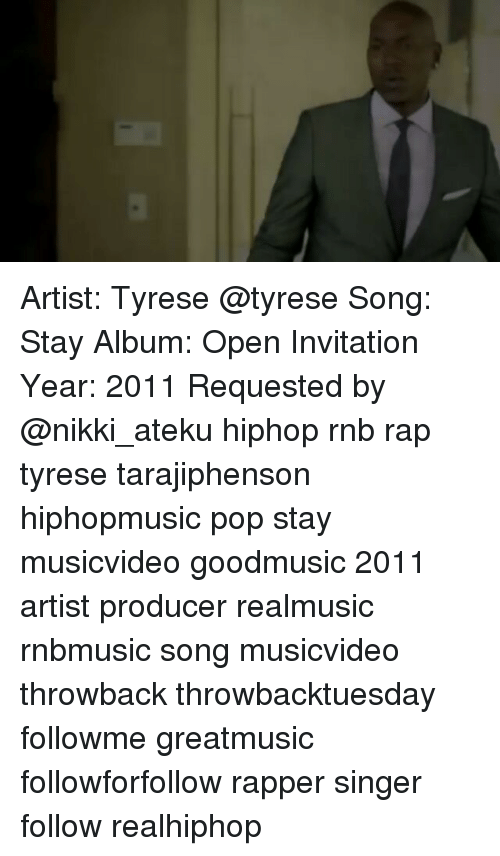 Tyrese gibson open invitation songs san diego omnium artist tyrese stay al open invitation year 2017 requested by stopboris Gallery
