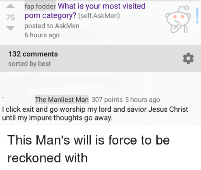 Click Jesus And Best Fap Fodder What Is Your Most Visited Porn Category