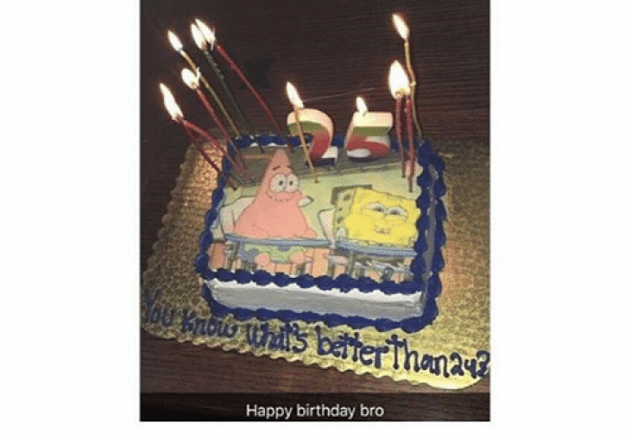 My Brother Turned 25 Solbought Him This Cake Happy Birthday Bro Some