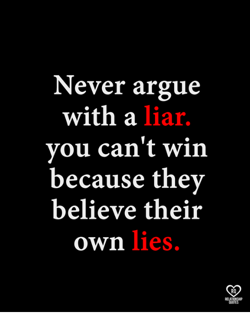 Liar And Memes Quotes Sayings