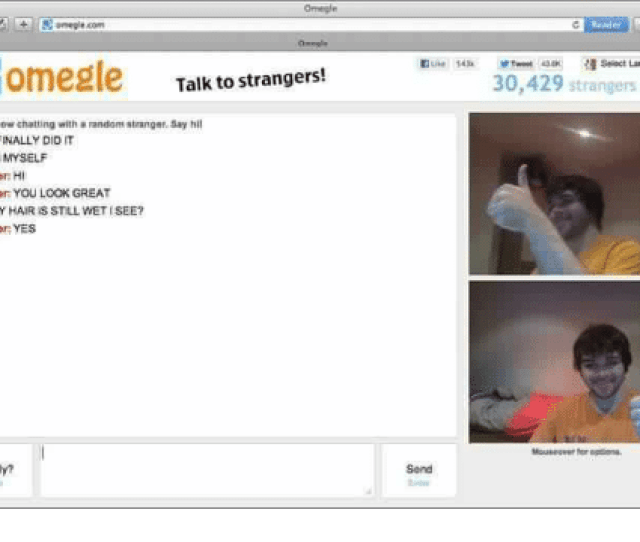 Finals Omegle And Chat Omegle Comegle Talk To Strangers Youre