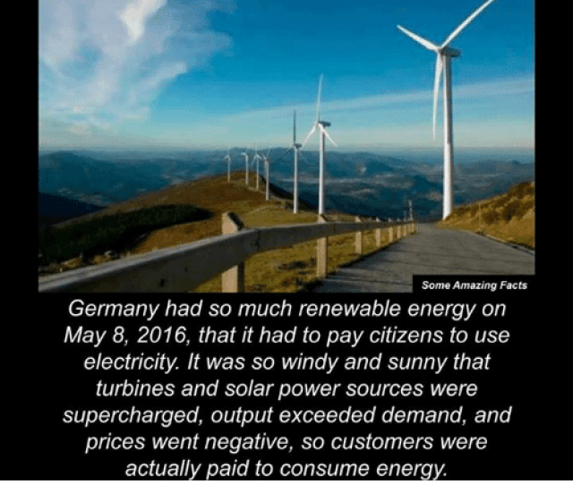 Energy Memes And Amaz Some Amazing Facts Germany Had So Much Renewable Energy