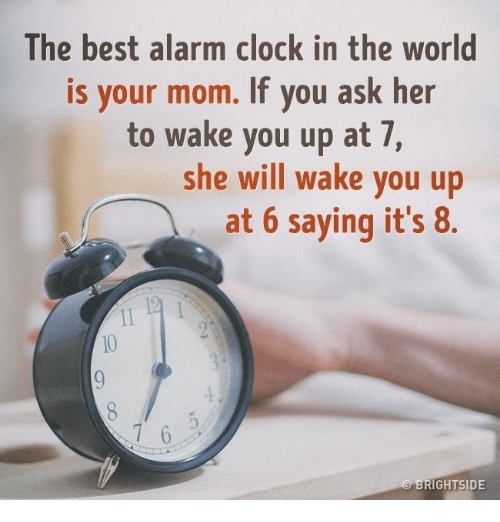 The Best Alarm Clock In World Is