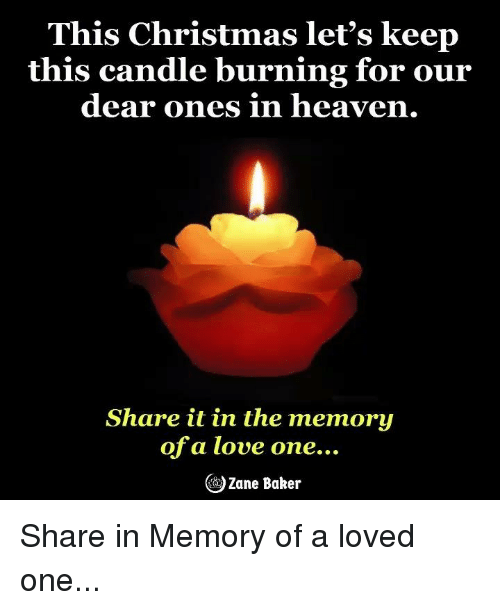 Download This Christmas Let's Keep This Candle Burning for Our Dear ...