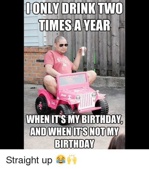Its Not Birthday My Meme