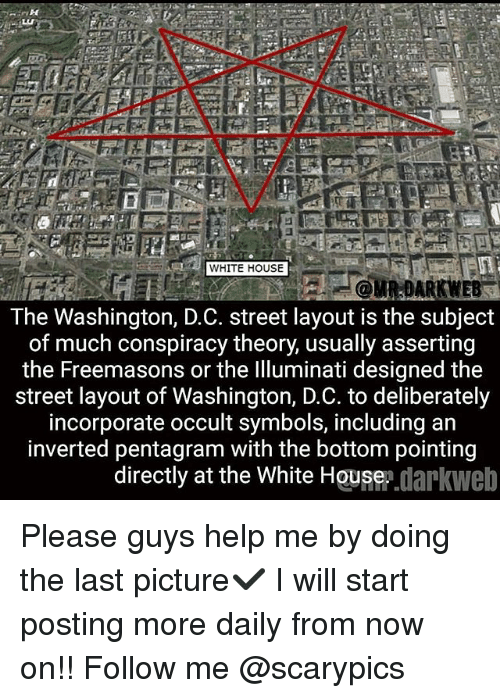 Washington Dc Streets Pentagram Full Hd Maps Locations Another