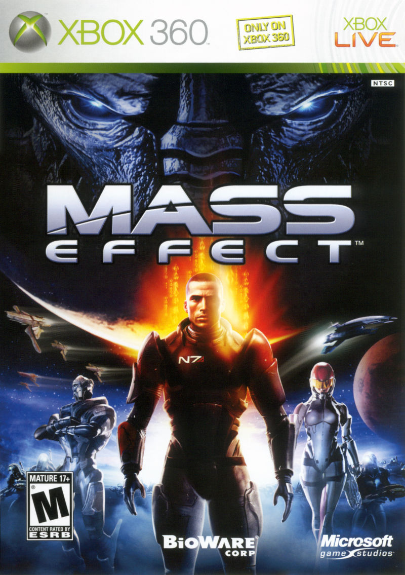 mass effect xbox 360 cover