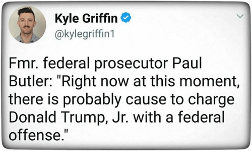 Kyle Griffin Fmr Federal Prosecutor Paul Butler Right Now ...