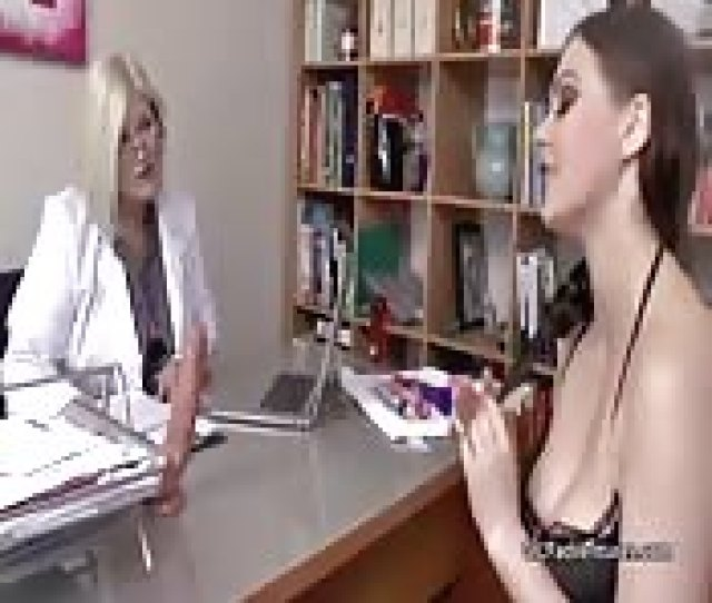 Old Female Doctor Helps Younger Female