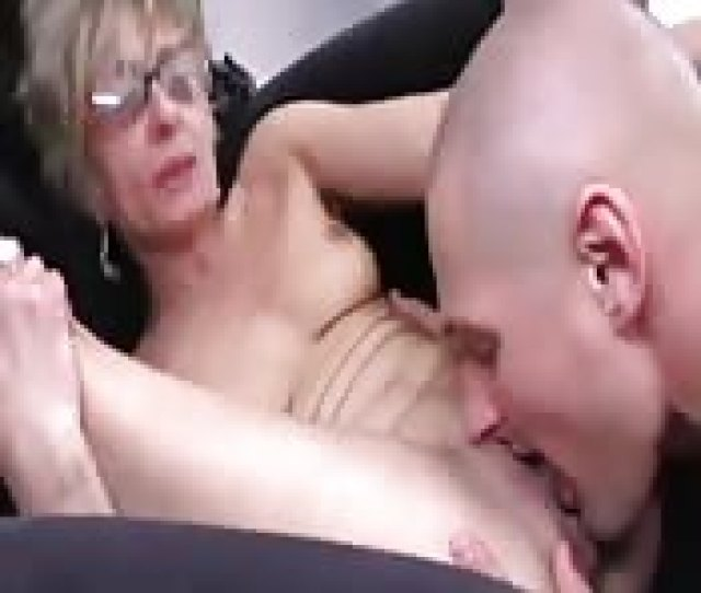 Granny Mom And Step Son Go Nude And Fuck
