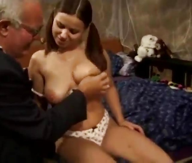 Old Man Fucks A Teen Hottie