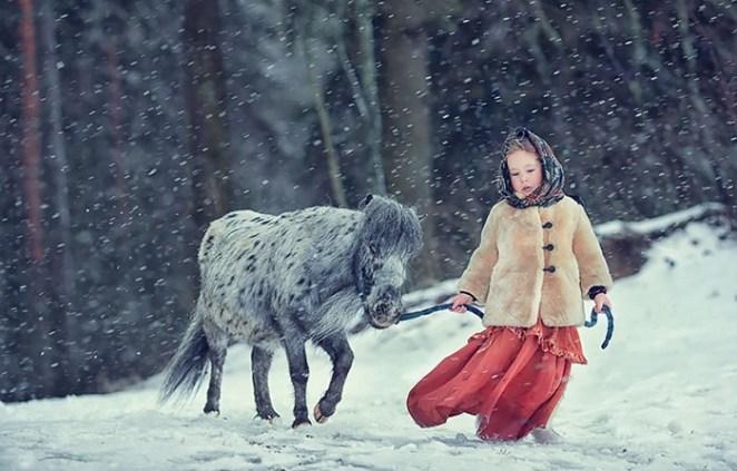 animal children photography elena karnee