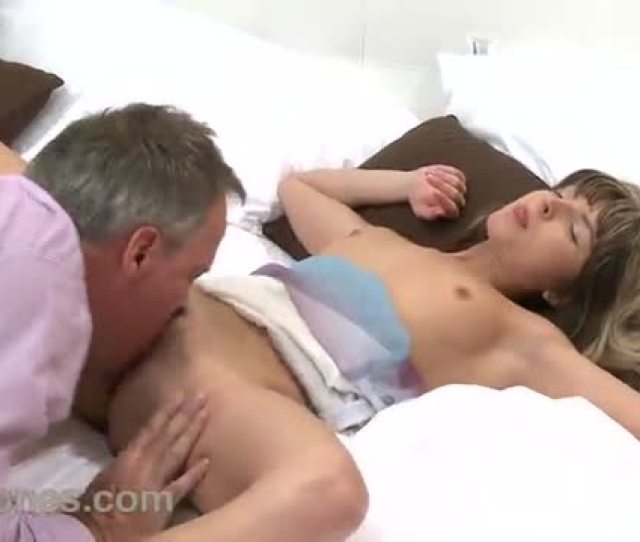 An Older Man Fucks A Young Woman