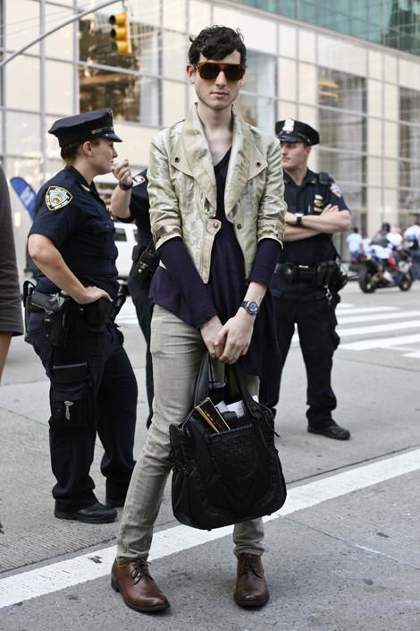 Brandon NYC Street Fashion Street Peeper Global