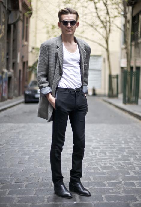 Andy Moller Melbourne Street Fashion Street Peeper