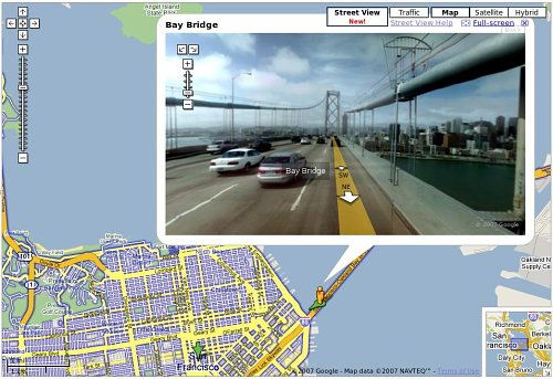 Por San Francisco con Google