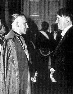 Hitler y el Papa Pio XII