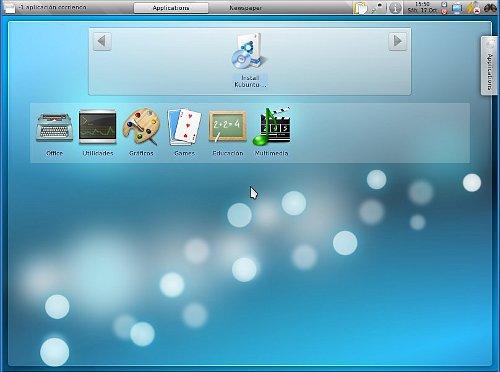 Kubuntu Karmic edición para netbooks