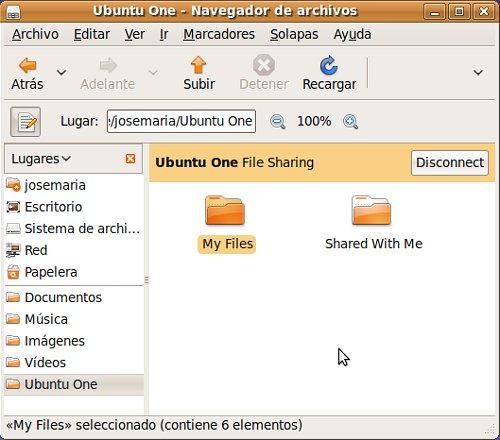 Cliente de escritorio de Ubuntu One