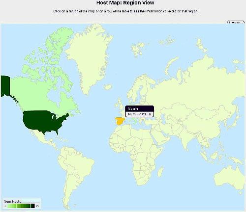 Graficos geográficos con Mako y ntop