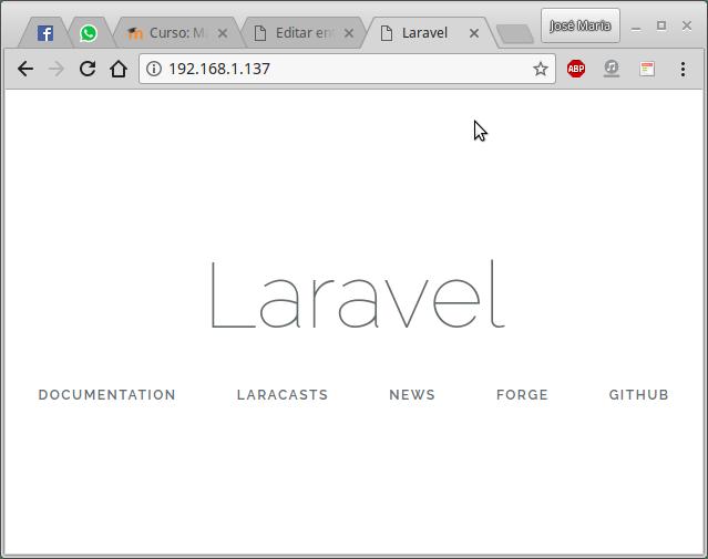 Laravel 5.6 en Debian 9.4