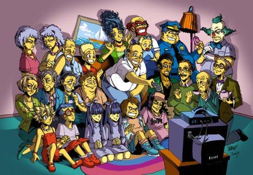 Los Simpsons manga