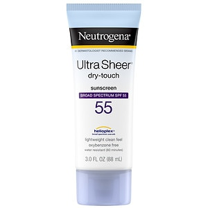 Neutrogena Ultra Sheer Dry-Touch Sunscreen, SPF 55- 3 oz