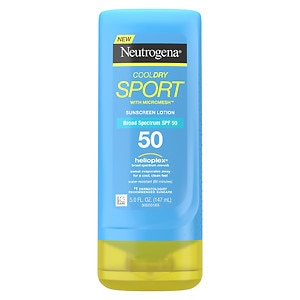 Neutrogena CoolDry Sport Sunscreen Lotion SPF 50- 5 oz