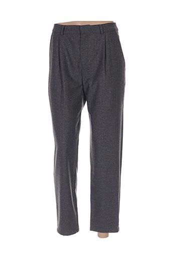 des petits hauts pantalon casual de couleur gris en soldes pas cher 1428336 gris00 modz
