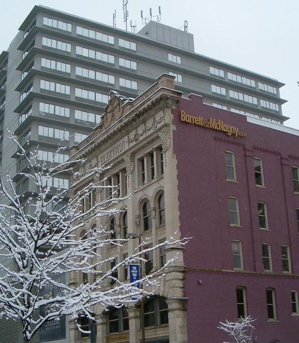 Fort Wayne IN ELEKTRON Building On Berry Street Photo