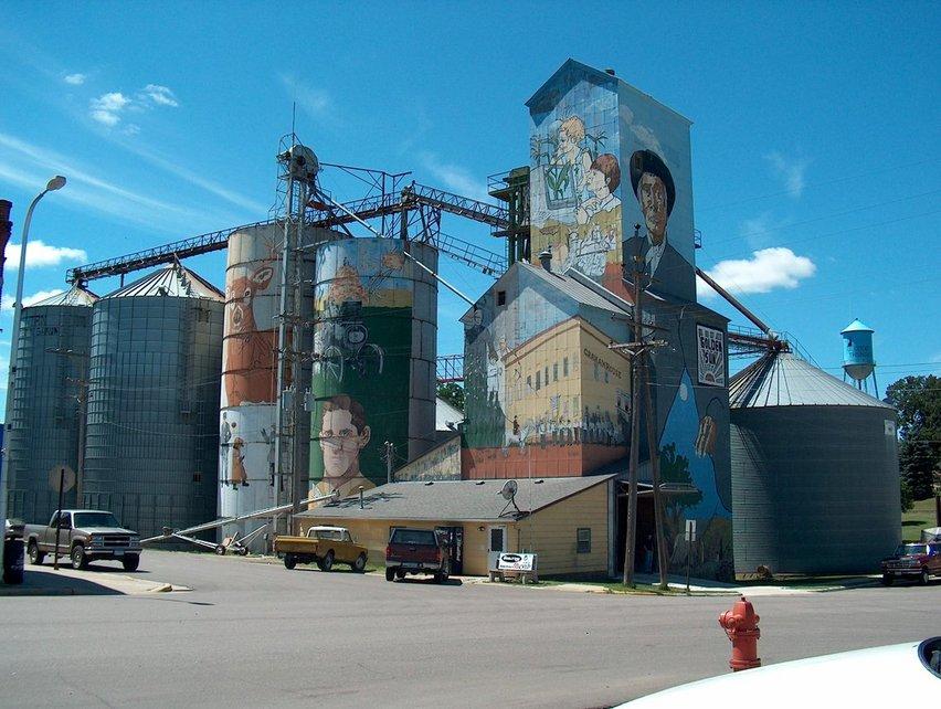 Good Thunder MN Good Thunder Grain Elevator Mural Photo