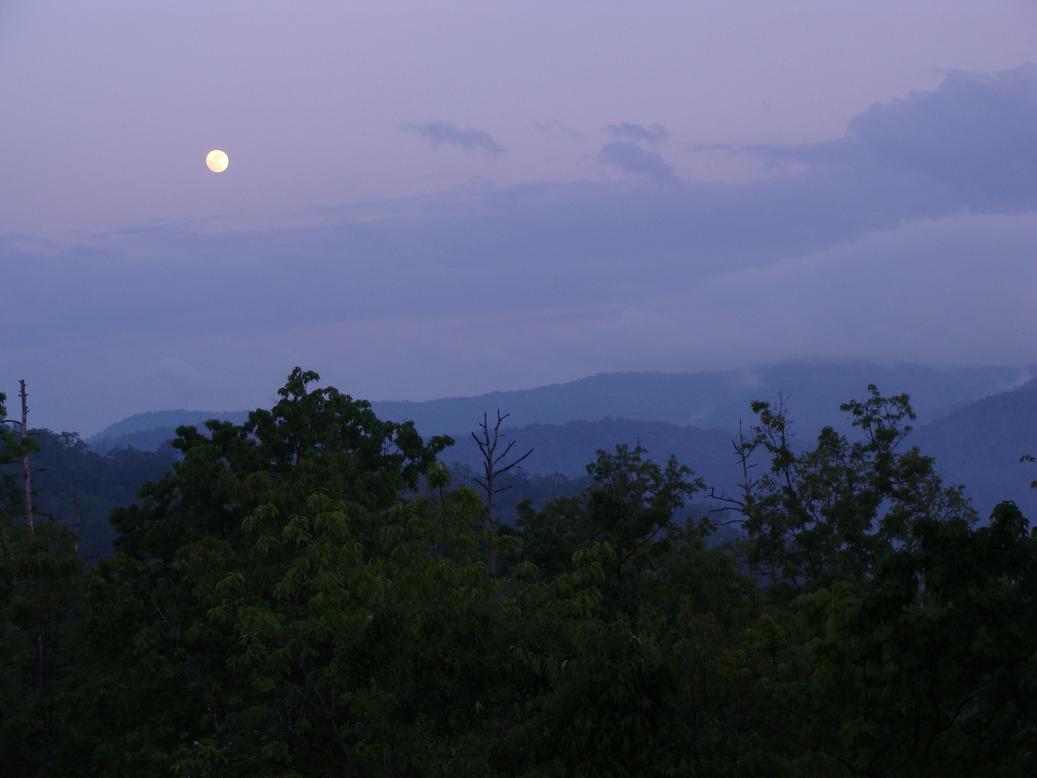 Blue Ridge Moon
