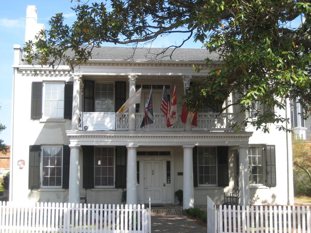 Mobile, AL: Conde Charlotte Museum house 1822 Mobile, Alabama