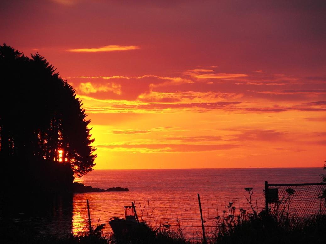 Kodiak, Αλάσκα: Kodiak ανατολή