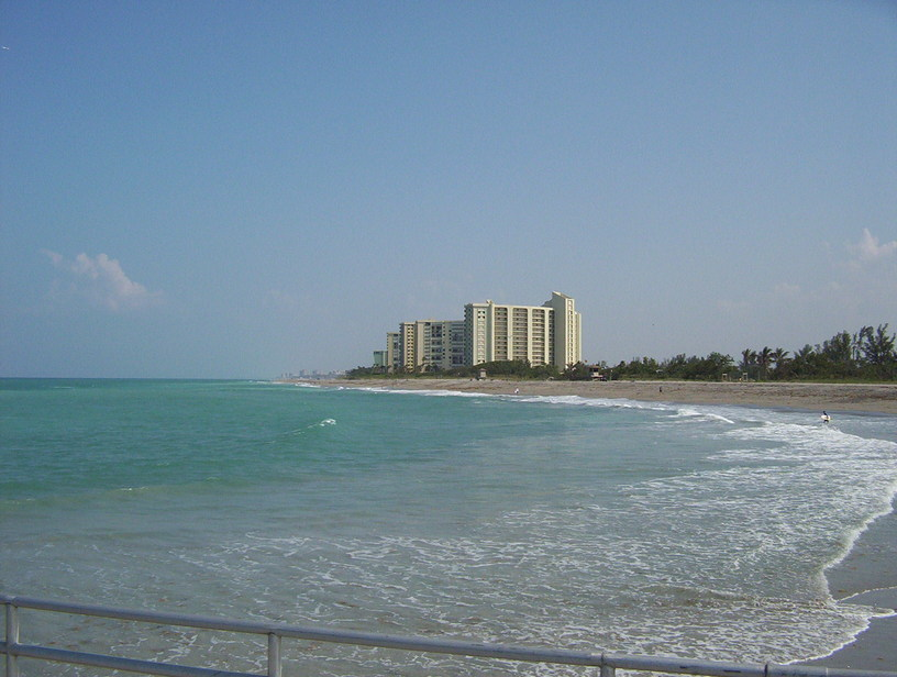 Jupiter FL Beach Front Photo Picture Image Florida