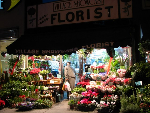 New York, NY: flower shop