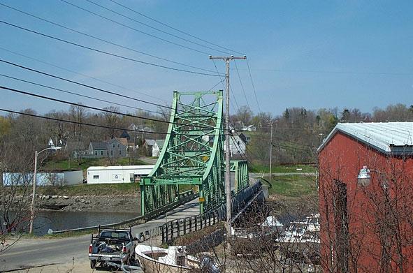 Thomaston ME Bridge In Thomaston Photo Picture Image