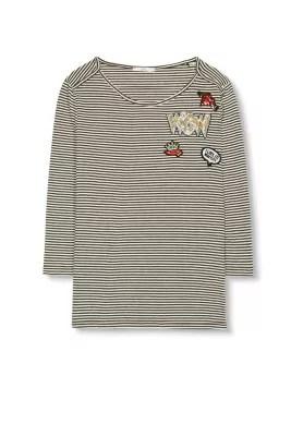 EDC / Shirt met glinsterende applicaties