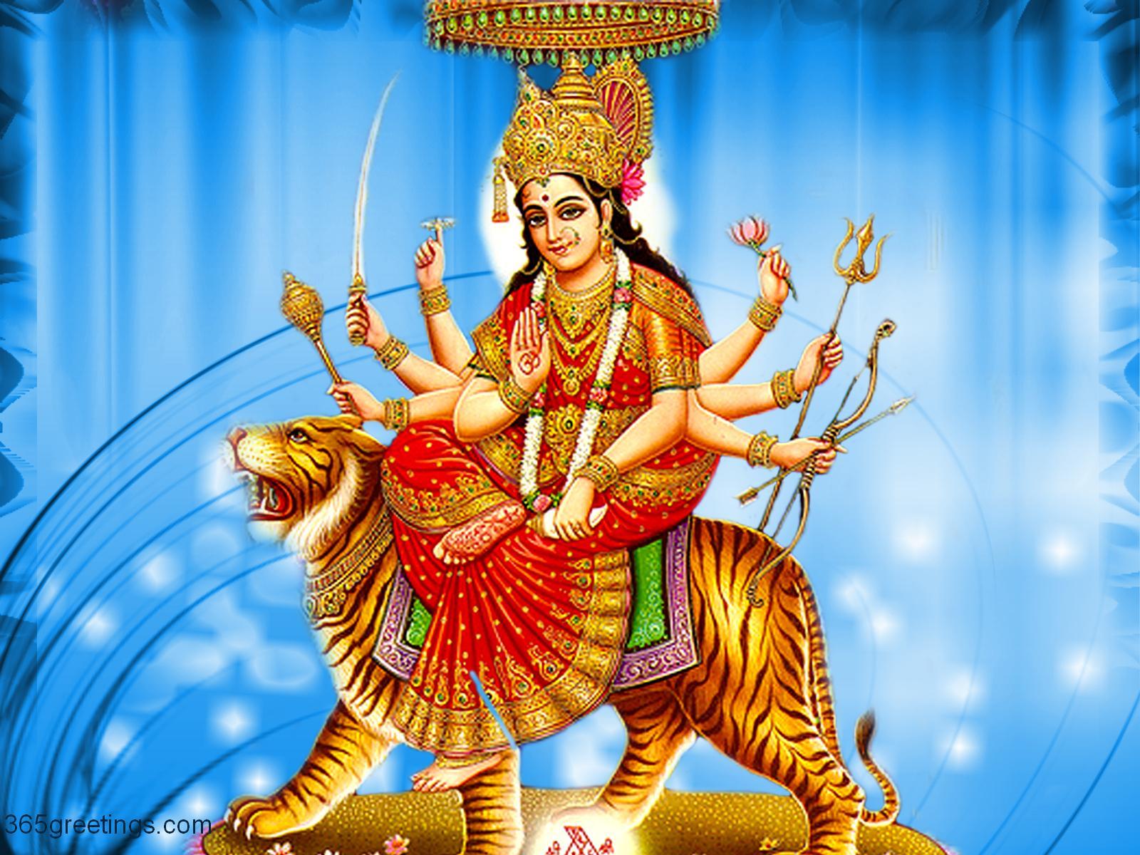 Jai Mata Di MAA Durga Beautiful HD Wallpapers Navratri ...